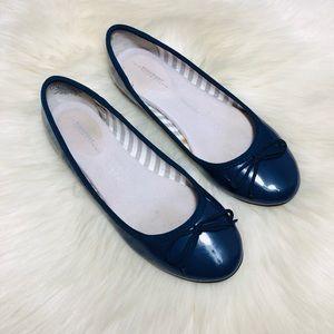 Rockport Blue Ballet Flats